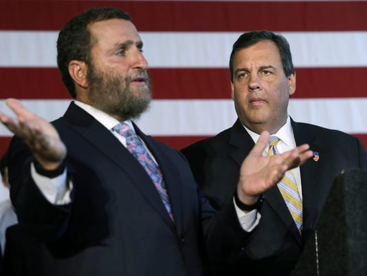 Chris Christie, Shmuley Boteach