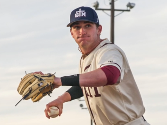 O'Neal Lochridge, who began his college career at LSU and now is playing third and first base for UL, was a shortstop at St. Thomas More High.