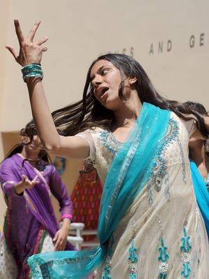 Sarandeep Kaur dances Indian Hip-Hop at Archana 2012 at the Civic Arts Plaza in Thousand Oaks.