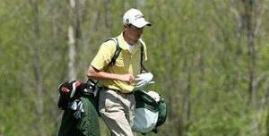 Troy Whittemore of Ithaca, N.Y., competing for Tompkins Cortland Community College in spring 2009. Whittemore, 23, died after a three-year battle with cancer on April 17, one week after attending the opening round of the Masters.