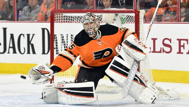 Steve Mason made 33 saves in the Flyers' 3-2 win over Ottawa Saturday.