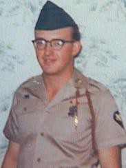Vietnam veteran Sgt David Lemcke