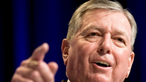 Former Attorney General John Ashcroft is one of three