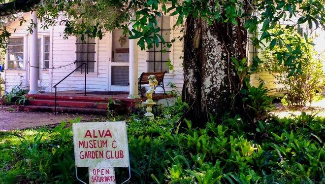 The Alva Garden Club's annual strawberry festival supports its 1909 museum.