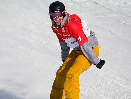 AP World Cup Snowboard