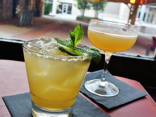 Kentucky Maid and Gold Rush cocktails.jpg
