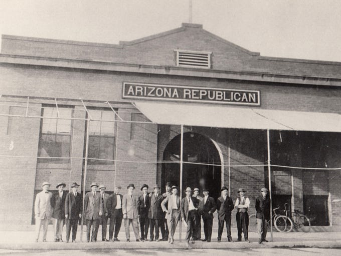 The Arizona Republican.  Date unknown.