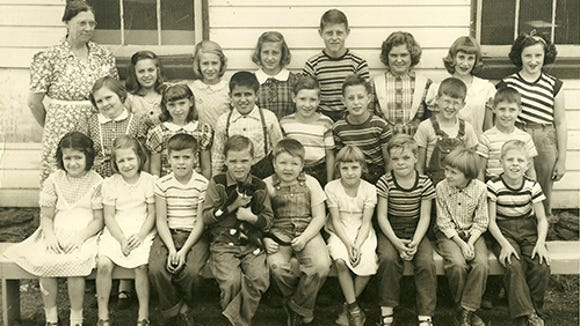 This is Shaull's one-room school in southeastern York County in 1951 - in Chanceford Township, in fact.