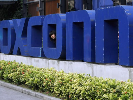 Foxconn is planning to build a massive $10 billion