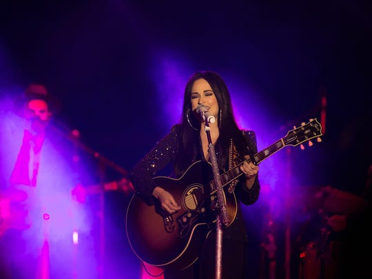 Kacey Musgraves at the Las Cruces Country Music Festival on April 29, 2017.
