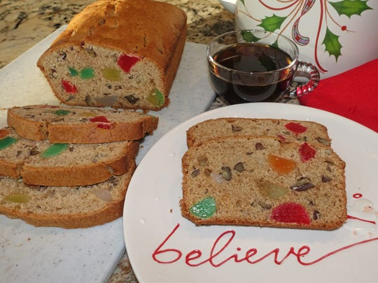 Gumdrop Fruit Cake is a cherished holiday recipe in Sharon Honisch's family.