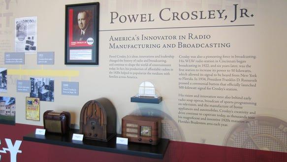 Powel Crosley Radio HOF main 1 8.12.14