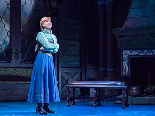 Patti Murin stars as Princess Anna in the Broadway