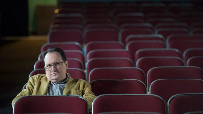 Martin McCaffery, Capri Theatre director, at the theatre in Montgomery. The Capri Theatre will publicly kick off a capital fundraising campaign on Jan. 8 at the Theatre. The campaign goal is to raise $750,000 to make upgrades to the electrical system and lobby.