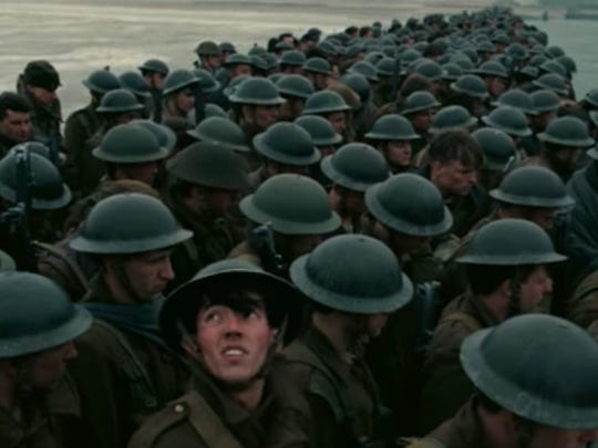 Christopher Nolan's latest film is set in World War II at the evacuation of Dunkirk.