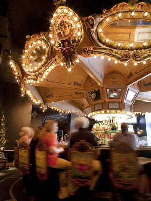 Enjoy the whimsical hotspot, Hotel Monteleone's Carousel Bar, while listening to live entertainment.