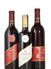 Jersey wines -- made by Unionville Vineyards.