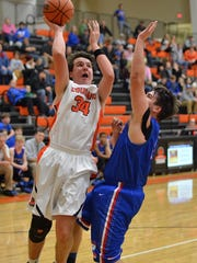 MTCS' Barr Ellenburg (34) and the Cougars return to