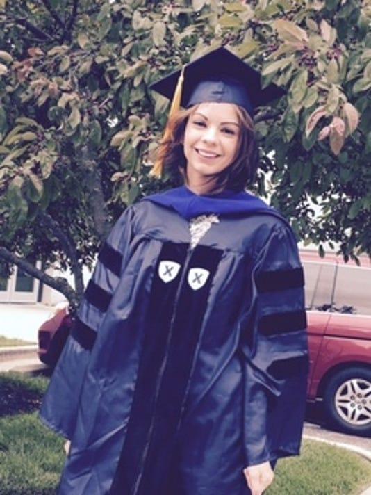 Graduations: Gina Radice-Vella