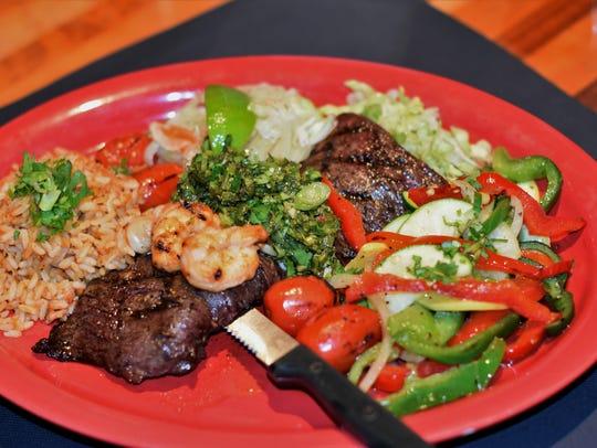 Carne asada at Cantina 109 in Gulf Coast Town Center
