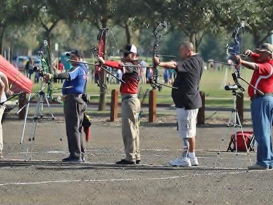 Archery senior games