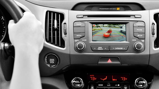 Backup cameras are especially important for large or taller vehicles such as SUVs, minivans or trucks.
