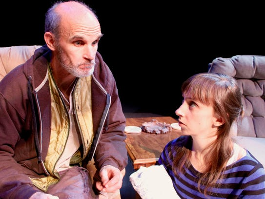 David Sitler and Amy Crossman star in the Chenango