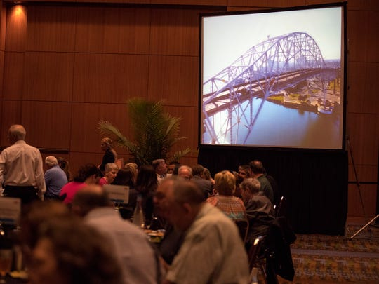One of the highlights at the annual State of the City luncheon was an update on the replacement of the Harbor Bridge project. The annual event was hosted by the United Corpus Christi Chamber of Commerce at the American Bank Center on Wednesday, March 28, 2018.