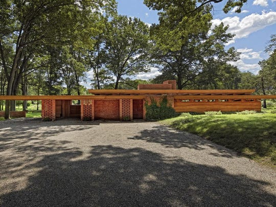 The Smith House in Bloomfield Hills, built by Frank Lloyd Wright in 1950, has been donated to Cranbrook, which will open it up for tours.