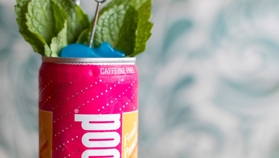 The Lost Whale in Bay View serves The Oops Not Berry's drink in a Jolly Good soda can and uses Jolly Good Fruit Punch.