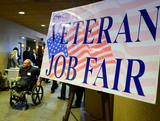 US-EMPLOYMENT-JOBS-VETERANS