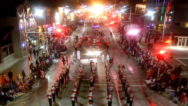 The 43rd annual Downtown Appleton Christmas Parade on  Nov. 26, 2013 in Appleton.