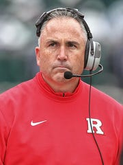 Coach Kyle Flood and Rutgers have not been competitive