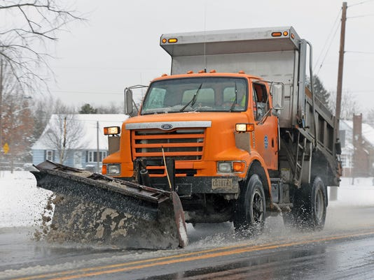 Cumberland County Public Works Truck