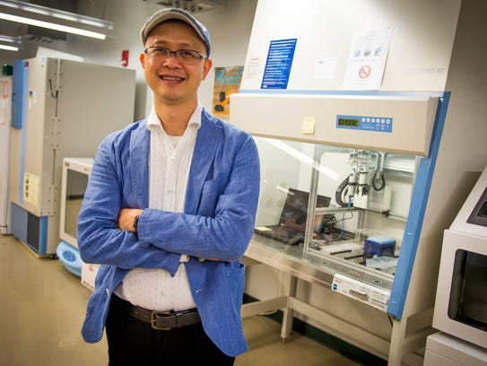 Cong Trinh, an assistant professor of chemical and
