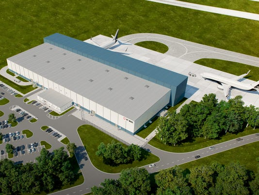 VT MAE airport facility rendering