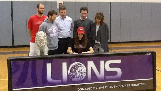 Dryden senior Abbey Yatsko announced she will run track for Cornell University next season. Yatsko holds 11 school records for the Purple Lions.