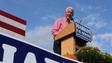 Bill Clinton speaks at the Harkin Steak Fry Sept. 14, 2014.