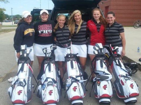 Fondy girls golf.JPG