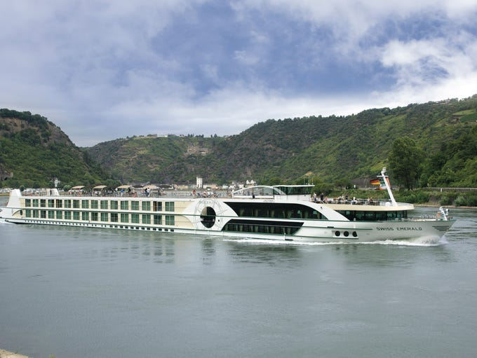 Tour company Tauck's river ship Emerald sails on the