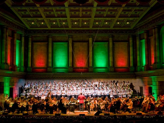 The Rochester Philharmonic Orchestra has a handful of holiday celebrations scheduled.