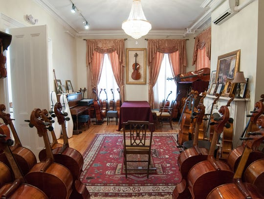 One of the many rooms at the Walsh/Ford Mansion.