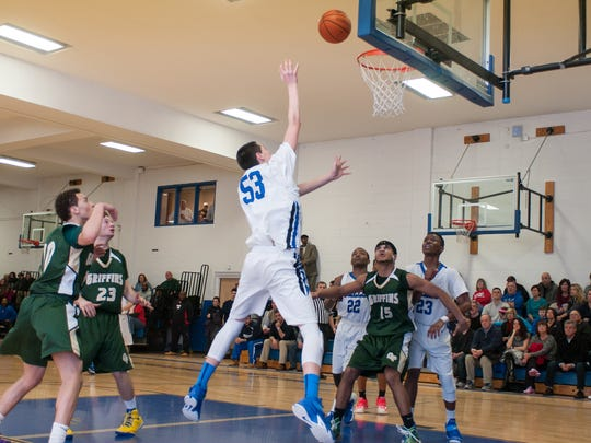 St. Mary's Marc Dadika (No. 53) is among the top players in North Jersey this season.