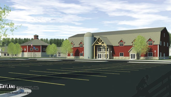 Proposed Wisconsin Agricultural Education Center