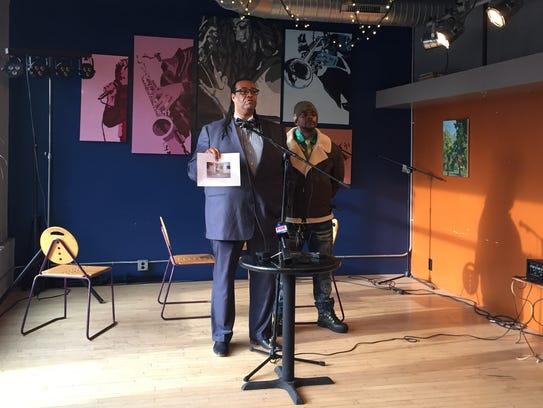 City Council Vice President Adam McFadden kicked off