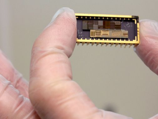 Semiconductors are assembled into components for a wide variety of devices.