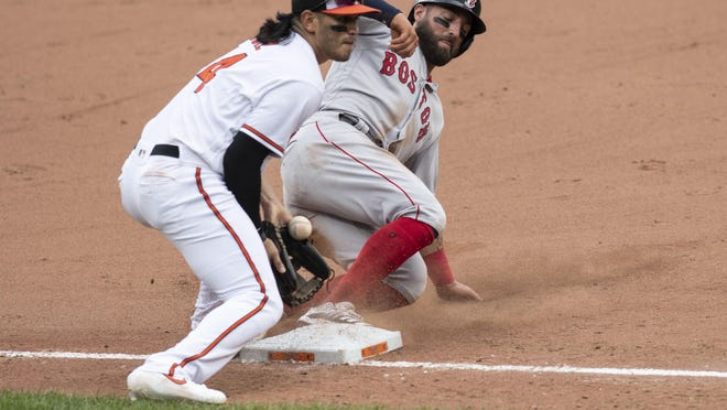 Kevin Pillar is going to keep hustling and playing hard for the Boston Red Sox. While trade rumors involving him circulate as the deadline approaches, he's learned not to stress about things he can't control.