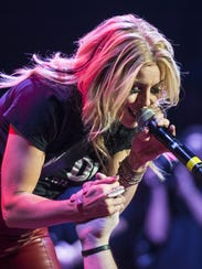 Lindsay Ell performs as Brad Paisley's Life Amplified