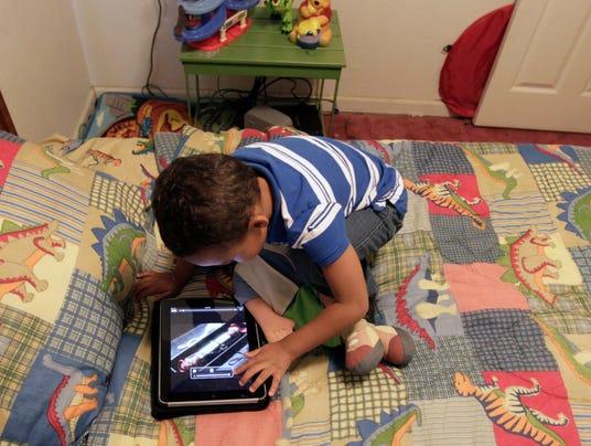 AP Parenting iPhones Toddlers