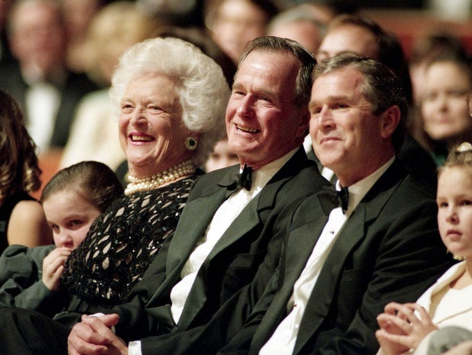 In 2012 George H. W. Bush was erroneously reported
